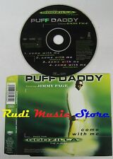 CD Singolo PUFF DADDY JIMMY PAGE LED ZEPPELIN come with me 1998 no mc lp dvd S3