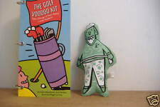 ~Golf Voodoo Kit~Handbook, Doll & Pins~