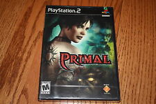 Primal Sony Playstation 2 New free shipping