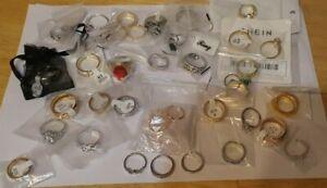 Job Lot of 30 new Dress Rings Various Sizes Mens & ladies
