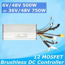 DC 36V/48V 500W/750W Electric Bicycle Brushless Motor Controller For E-Bike