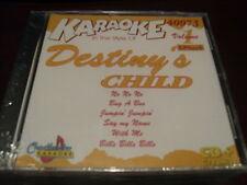 CHARTBUSTER 6+6 KARAOKE DISC 40073 DESTINY'S CHILD CD+G POP MULTIPLEX SEALED