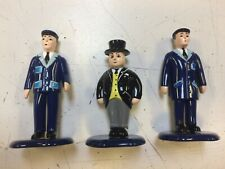 Three piece Thomas Figure Set, Sir Topham Hatt, Conductor, & Engineer. New!