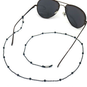 1PC Metal  Eyeglass Sunglasses Reading Glasses Chain Manmade Pearl Cord Straps