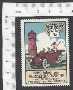 Netherland vintage Traffic Week poster stamp MNH