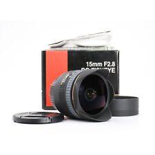 Canon Sigma EX 2,8/15 DG Fisheye + TOP (228099)