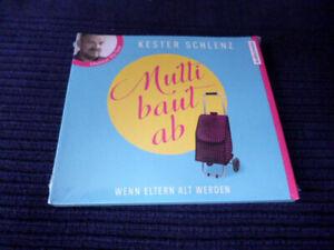 4CD HÖRBUCH Kester Schlenz MUTTI BAUT AB mit Dietmar Bär Wenn Eltern Alt Werden