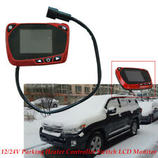 LCD Monitor Switch Remote Accessories For Car Track Diesels Air Heater Parking