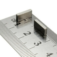 2x Neodymium 20mm x 10 x 4mm Strong Bar Magnet Rare Earth Neo Block magnets
