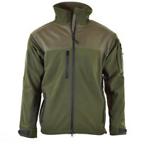 Brand army military style combat soft shell jacket Olive OD waterproof windproof
