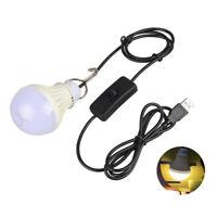 JT_ USB bulb 5V low-voltage light led energy-saving rechargeable emergency bul