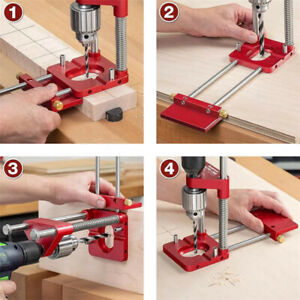 Portable Woodworking Drill Positioning Locator Convenient Labor Guide Tool