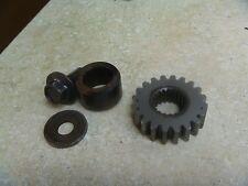 Honda 125 CR CR125R CR125-R Used Engine Crank Gear 1988 HB251