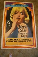 MOVIE STAR AMERICAN STYLE  LSD I HATE YOU  DRUGS SEXPLOITATION  40 X 60 1966