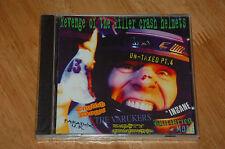 REVENGE OF THE KILLER CRASH HELMETS CD various artists, punk compilation - NEW