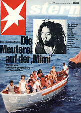 Magazin STERN  Nr 44 von 1975, Meuterei auf der Mimi; Isabelle Adjani; Island ..