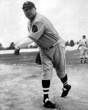 1935 Boston Braves Pitcher BABE RUTH 'Great Bambino' Glossy 8x10 Photo Print