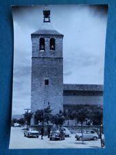 GALAPAGAR TORRE DE LA IGLESIA POSTAL FOTOGRÁFICA  ANTIGUA EDICIONES VISTABELLA