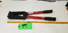 Quick Cable 4247-001 Hex Crimp Junior 8-1/0 Gauge Rotating Dies. lot#13 shelf a6