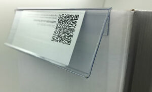 Shelf talkers data strip barker Extruded POS Sign Retail display barkers edge