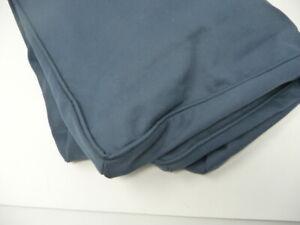 Pottery Barn Kids Dream Lullaby Rocker Ottoman Slipcover Blue Twill 24x24