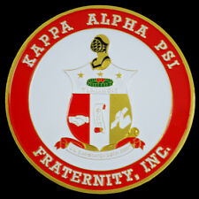 Kappa Alpha Psi Fraternity Car Emblem-New!