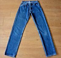 Levis 517 Ladies Slim Fit Blue Jeans Size W28 L34