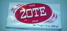 Zote pink laundry soap