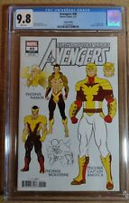 """Avengers #40 CGC 9.8 """"Design"""" Variant Cover with white pages"""