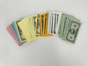 1974 EASY MONEY board game Replacement pieces 4620 Play Paper Money Bills