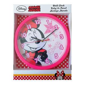 Orologio da parete ufficiale Disney Minnie per cameretta bambina 3622
