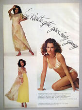Van Raalte Bikini, Slip, Nightdress, Lingerie PRINT AD - 1974