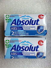 Soap antibacterial Absolut CLASSIC ultra protection 90 gr x 2pcs