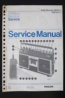 Philips Radio Registratore D8210 D8212 Originale Manuale di Servizio/Schema