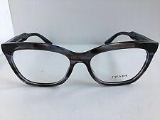 New PRADA VPR 2S4 QEU-1O1 55mm Gray Cats Eye Women's Eyeglasses Frame #8