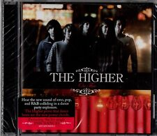 """THE HIGHER """"ON FIRE"""" CD 2007 epitaph sealed b"""