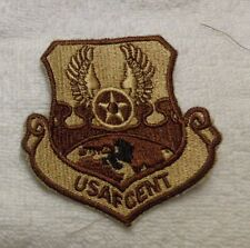 U.S.A.F. PATCH, US AIR FORCE CENTRAL, DESERT