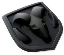 3D DODGE RAM HEAD MATTE BLACK EMBLEM LOGO BADGE FRONT HOOD Charger Challenger