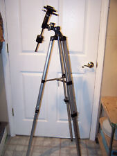 """TelescopeTripod with Mount Hardware & Weight Stands ~50"""" Tall"""
