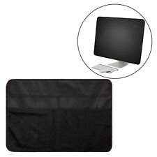 PC Dustproof Cover PU Leather Dust Cover for iMac Screen and Accessories