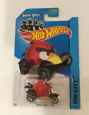 2013 Hot Wheels HW City Angry Birds Red