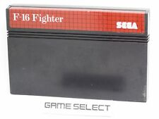 F-16 FIGHTER SEGA MASTER SYSTEM 8 BIT PAL EU EUR ITALIANO CARTUCCIA ORIGINALE