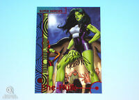 2013 Fleer Marvel Retro She-Hulk Autograph Base Card #38  Ryan Stegman Signed