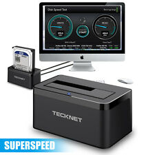 "All in 1 HDD Docking Station USB 3.0 2.5""/3.5"" SATA Hard Drive Card Reader Dock"