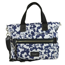 NWT Marc Jacobs Floral Print Biker Baby Diaper Bag With Changing Pad