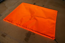 SMALL PROP BAG - HI VIS ORANGE - COVER - PU COATED - POLYESTER - BOAT - SAFETY