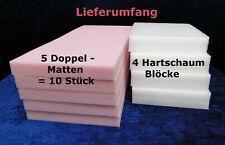Schaumstoffplatte 41,11 EUR//m² Rund 40cm Stärke 4cm RG40 5er Set