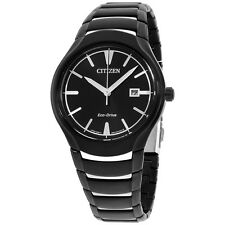 Citizen Paradigm Black Dial Stainless Steel Men's Watch AW155858E