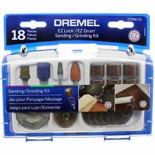 Dremel EZ686-01 - 18 Piece EZ LOCK Sanding/Grinding Accessory Set 2615E686AA - H