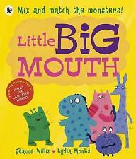 Little Big Mouth by Jeanne Willis (Paperback) Book - Mix & Match Monsters